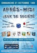 Après-midi Jeux de Société à Chantraine 88000 Chantraine du 21-10-2018 à 14:00 au 21-10-2018 à 18:00
