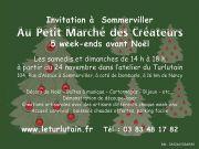Marché des Créateurs à Sommerviller 54110 Sommerviller du 24-11-2018 à 14:00 au 23-12-2018 à 18:00