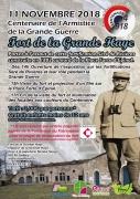 Centenaire de l'Armistice de la Grande Guerre à Golbey 88190 Golbey du 11-11-2018 à 14:00 au 11-11-2018 à 17:00