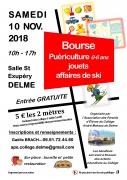 Bourse Jouets Puériculture Ski à Delme  57590 Delme du 10-11-2018 à 10:00 au 10-11-2018 à 17:00