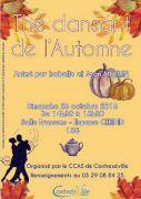 Thé Dansant à Contrexéville 88140 Contrexéville du 28-10-2018 à 14:30 au 28-10-2018 à 18:30