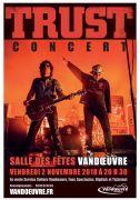 Concert Trust à Vandoeuvre-lès-Nancy 54500 Vandoeuvre-lès-Nancy du 02-11-2018 à 20:30 au 02-11-2018 à 23:59