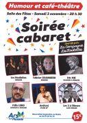 Soirée Cabaret à Ars-sur-Moselle 57130 Ars-sur-Moselle du 03-11-2018 à 20:30 au 03-11-2018 à 23:30