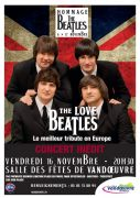 Concert The Love Beatles à Vandoeuvre-lès-Nancy 54500 Vandoeuvre-lès-Nancy du 16-11-2018 à 20:30 au 16-11-2018 à 23:59