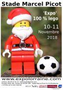 Expo 100 % Lego à Tomblaine Stade Marcel Picot 54510 Tomblaine du 10-11-2018 à 09:30 au 11-11-2018 à 18:00