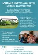 Portes Ouvertes Maison Petits Frères des Pauvres de Nancy 54130 Dommartemont du 19-10-2018 à 14:00 au 19-10-2018 à 18:00