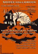 Soirée Halloween à Troyon 55300 Troyon du 31-10-2018 à 19:30 au 31-10-2018 à 23:59