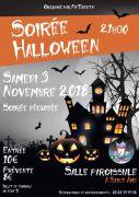 Soirée Déguisée Halloween à Saint-Amé 88120 Saint-Amé du 03-11-2018 à 21:00 au 03-11-2018 à 23:59