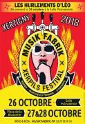 Musik Fabrik Xerpils Festival à Xertigny 88220 Xertigny du 26-10-2018 à 20:00 au 28-10-2018 à 18:00