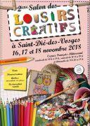Salon des Loisirs Créatifs à Saint-Dié-des-Vosges 88100 Saint-Dié-des-Vosges du 16-11-2018 à 14:00 au 18-11-2018 à 18:00
