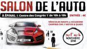 Salon de l'Automobile à Épinal 88000 Epinal du 01-11-2018 à 09:00 au 04-11-2018 à 19:00