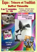 Exposition Trésors et Tradition à Thionville 57100 Thionville du 05-11-2018 à 14:00 au 11-11-2018 à 18:00