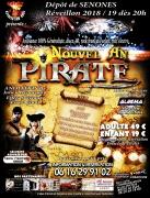 Soirée Nouvel An Pirates à Senones 88210 Senones du 31-12-2018 à 20:00 au 01-01-2019 à 05:00