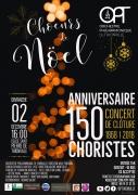 Chœurs de Noël avec Orchestre Philharmonique de Thionville 57100 Thionville du 02-12-2018 à 16:00 au 02-12-2018 à 17:30