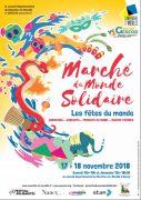 Marché du Monde Solidaire à Nancy 54000 Nancy du 17-11-2018 à 10:00 au 18-11-2018 à 18:30