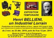 Exposition Henri Bellieni à Saint-Nicolas-de-Port