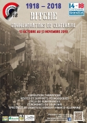 Conférences Première Guerre Mondiale à Bitche 57230 Bitche du 03-11-2018 à 09:00 au 03-11-2018 à 16:00
