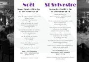 Réveillons Noël et Nouvel An à Gérardmer Beau Rivage  88400 Gérardmer du 24-12-2018 à 19:00 au 01-01-2019 à 02:00