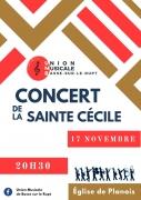 Concert de la Sainte-Cécile à Basse-sur-le-Rupt 88120 Basse-sur-le-Rupt du 17-11-2018 à 20:30 au 17-11-2018 à 23:00