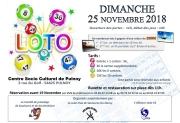 Loto à Pulnoy 54420 Pulnoy du 25-11-2018 à 14:00 au 25-11-2018 à 17:30