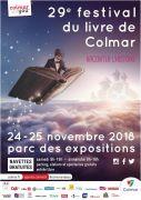 Festival du Livre de Colmar Alsace 68000 Colmar  du 24-11-2018 à 09:00 au 25-11-2018 à 18:00