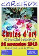 Chutes d'Art Vide-Atelier d'Artistes à Corcieux 88430 Corcieux du 25-11-2018 à 09:00 au 25-11-2018 à 18:00