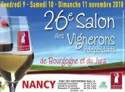 Salon des Vignerons Indépendants à Nancy Parc Expo 54500 Vandoeuvre-lès-Nancy du 09-11-2018 à 15:00 au 11-11-2018 à 18:00