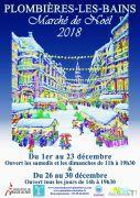 Marché de Noël à Plombières-les-Bains 2018 88370 Plombières-les-Bains du 01-12-2018 à 11:00 au 30-12-2018 à 19:30