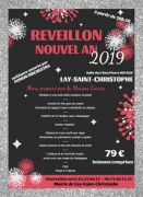 Réveillon Nouvel An à Lay-Saint-Christophe 54690 Lay-Saint-Christophe du 31-12-2018 à 20:30 au 01-01-2019 à 04:00