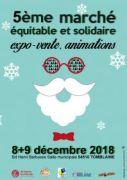 Marché Équitable de Tomblaine 54510 Tomblaine du 08-12-2018 à 10:10 au 09-12-2018 à 18:10