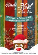 Marché de Noël Vic-sur-Seille 2018 57630 Vic-sur-Seille du 30-11-2018 à 18:00 au 16-12-2018 à 19:00