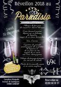 Soirée Réveillon Nouvel An à Longwy au Paradisio 54400 Longwy du 31-12-2018 à 18:30 au 01-01-2019 à 23:59