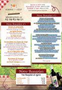 Menus Beaujolais Nouveau Auberge Liezey près de Gerardmer 88400 Liézey du 15-11-2018 à 19:00 au 17-11-2018 à 23:59