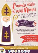 Concours Ecrire à Saint Nicolas 2018 54210 Saint-Nicolas-de-Port du 19-11-2018 à 07:00 au 05-12-2018 à 00:00