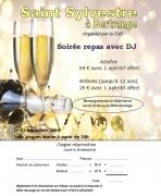 Soirée Nouvel An à Bertrange 57310 Bertrange du 31-12-2018 à 20:00 au 01-01-2019 à 02:00
