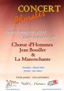 Concert de Chant Choral à Heillecourt 54180 Heillecourt du 08-12-2018 à 20:30 au 08-12-2018 à 22:15