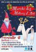 Marché Noël des Métiers d'Art de Thionville 2018 57100 Thionville du 07-12-2018 à 14:00 au 16-12-2018 à 19:00