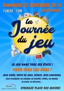 La Journée du Jeu à Saint-Mihiel 55300 Saint-Mihiel du 25-11-2018 à 13:30 au 25-11-2018 à 19:00
