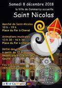 Festivités Saint Nicolas Commercy 2018 55200 Commercy du 08-12-2018 à 10:00 au 08-12-2018 à 19:00