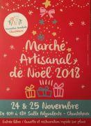Marché de Noël Artisanal à Chanteheux 2018 54300 Chanteheux du 24-11-2018 à 10:00 au 25-11-2018 à 18:00