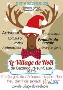 Village de Noël de Bazincourt-sur-Saulx 2018 55170 Bazincourt-sur-Saulx du 15-12-2018 à 15:00 au 16-12-2018 à 17:00