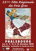 Fête Régionale du Foie Gras à Phalsbourg  57370 Phalsbourg du 08-12-2018 à 10:00 au 16-12-2018 à 19:00
