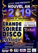 Réveillon Nouvel An à Pont-à-Mousson 54700 Pont-à-Mousson du 31-12-2018 à 20:30 au 01-01-2019 à 02:00