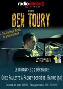 Concert Ben Toury Chez Paulette à Pagney-derrière-Barine 54200 Pagney-derrière-Barine du 09-12-2018 à 15:30 au 09-12-2018 à 19:00