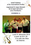 Réveillon Nouvel An à Velaines 55500 Velaines du 31-12-2018 à 20:00 au 01-12-2019 à 02:00