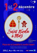 Saint Nicolas à Metz Défilé St-Nicolas 2018 57000 Metz du 01-12-2018 à 14:00 au 02-12-2018 à 20:00