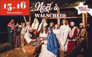 Crèche Vivante Marché de Noël à Walscheid 57870 Walscheid du 15-12-2018 à 16:00 au 16-12-2018 à 18:00