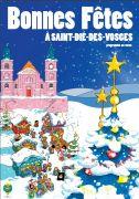 Marché et Animations de Noël Saint-Dié-des-Vosges 88100 Saint-Dié-des-Vosges du 07-12-2018 à 18:00 au 06-01-2019 à 20:00