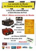Conférence sur Henri Bellieni à Saint-Nicolas-de-Port 54210 Saint-Nicolas-de-Port du 15-12-2018 à 14:30 au 15-12-2018 à 17:00