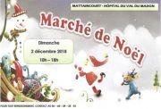 Marché de Noël Mattaincourt 2018 88500 Mattaincourt du 02-12-2018 à 10:00 au 02-12-2018 à 18:00
